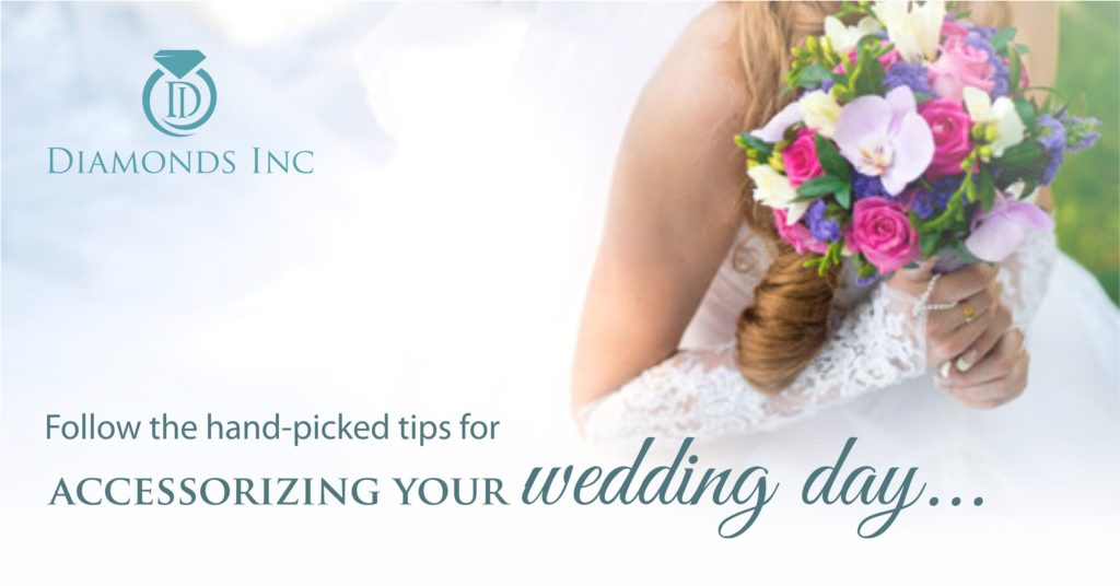 Follow the hand-picked tips for accessorizing your wedding day