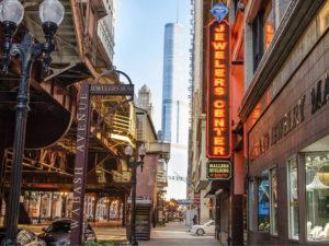 HISTORIC JEWELERS ROW CHICAGO - DIAMOND DISTRICT