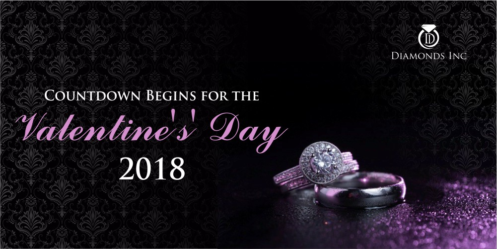 Countdown Begins for the Valentine's' Day 2018