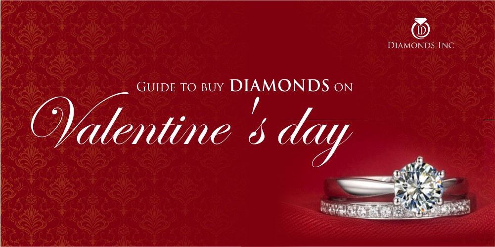 Guide to buy diamonds on Valentine's day