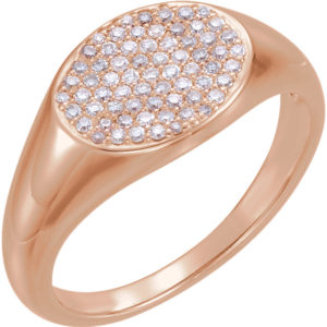 Pave diamond ring - Diamonds717 | Diamonds Inc