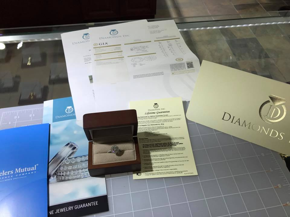 GIA certified diamonds Inc