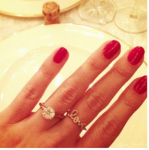 comfortable wedding and engagement ring