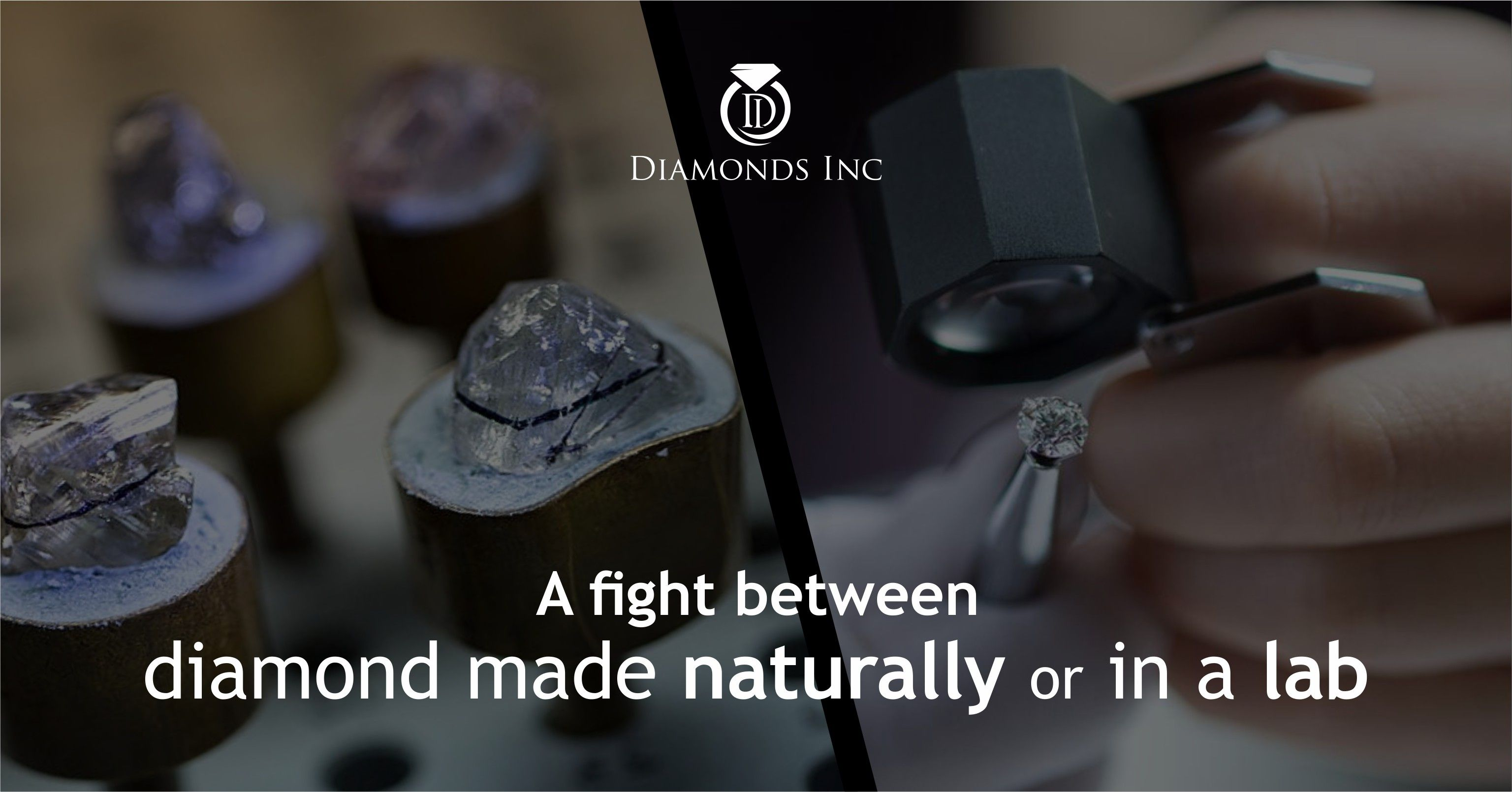 A Fight Between Diamond Made Naturally Or In A Lab