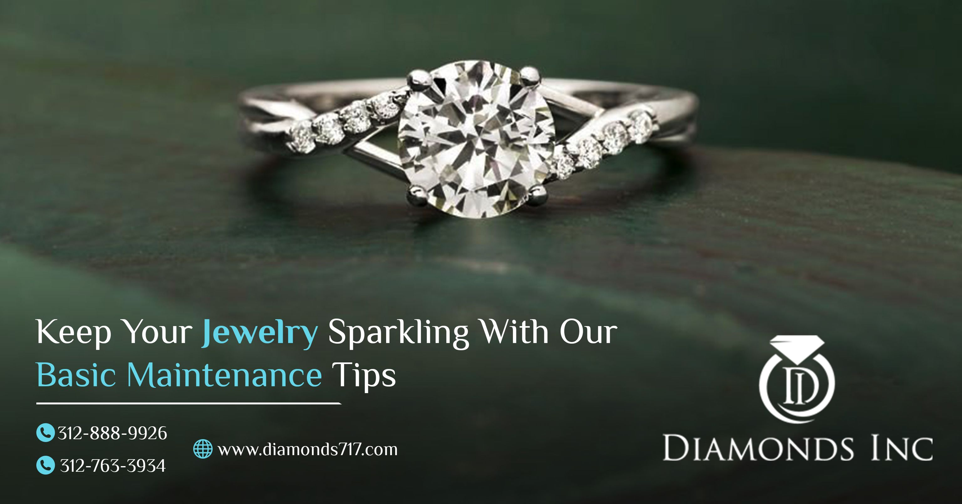 Keep Your Jewelry Sparkling With Our Basic Maintenance Tips