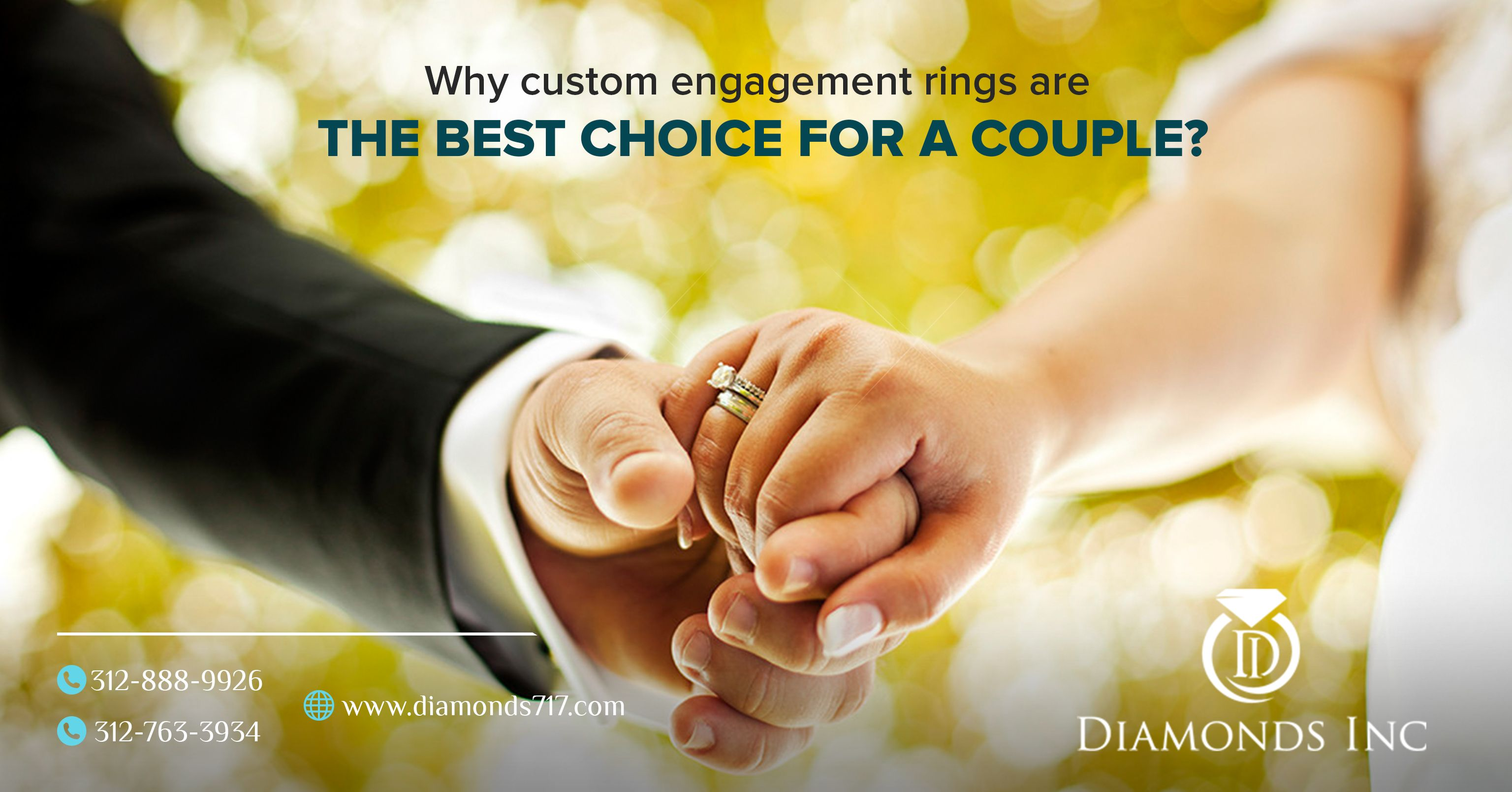 Why Custom Engagement Rings Are The Best Choice For a Couple?