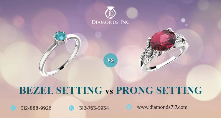 Bezel Setting vs Prong Setting