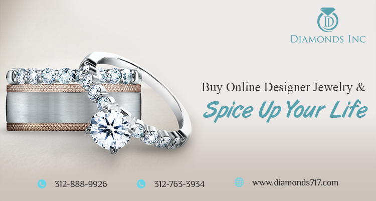 Buy Online Designer Jewelry and Spice Up your Life