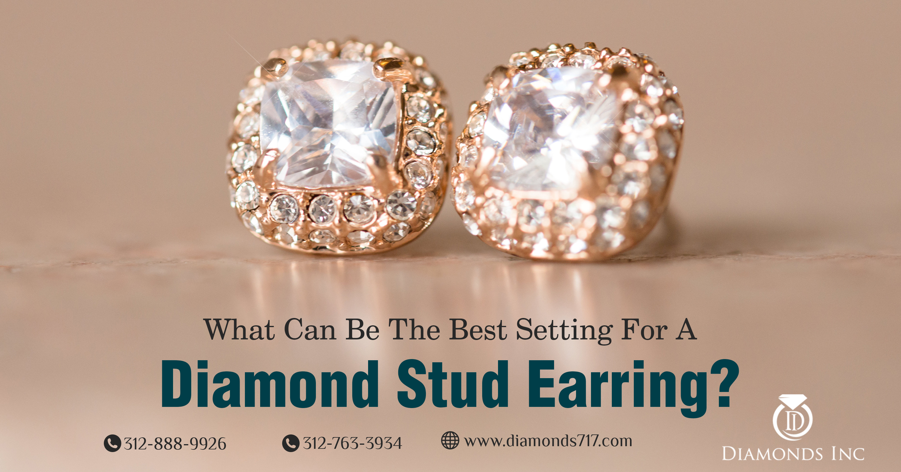 What Can Be the Best Setting for a Diamond Stud Earring?