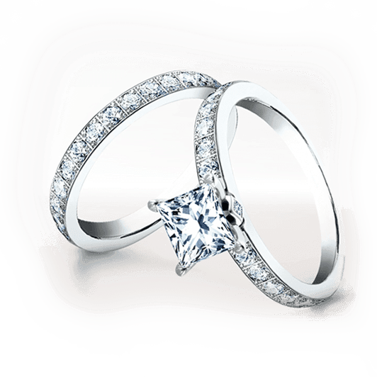 Wedding ring, engagement ring of Diamonds Inc | Diamonds717
