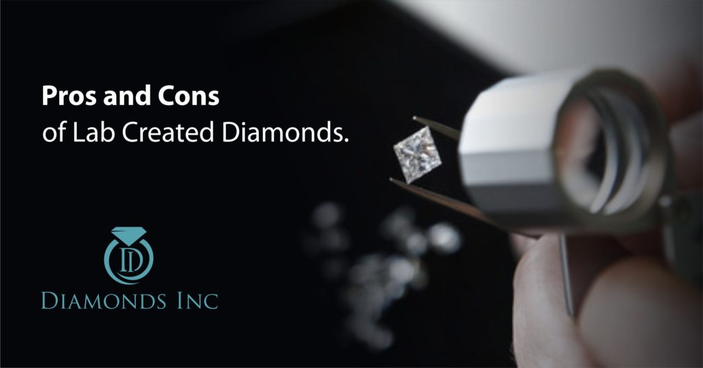 Pros and Cons of Lab Created Diamonds