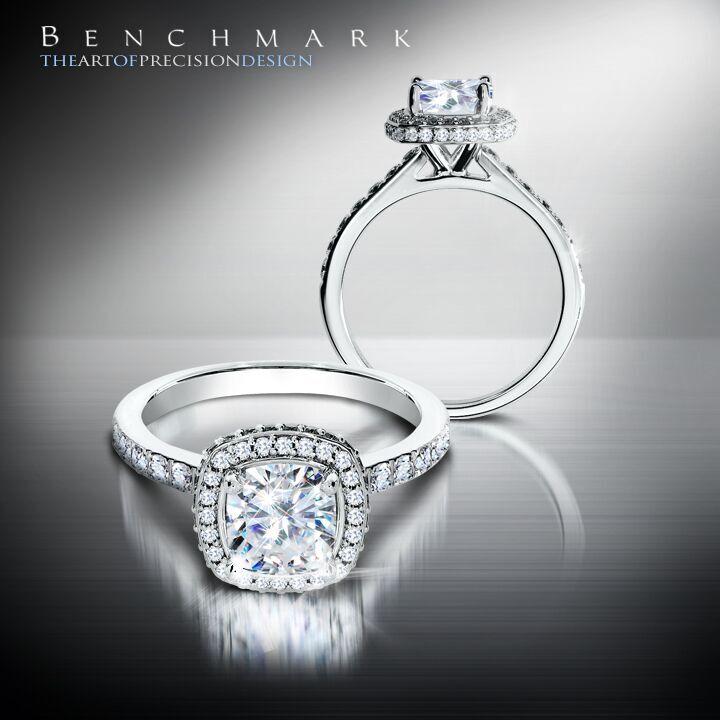 Engagement Rings Chicago: Diamonds Inc Chicago Resplendent Diamond Halo Engagement