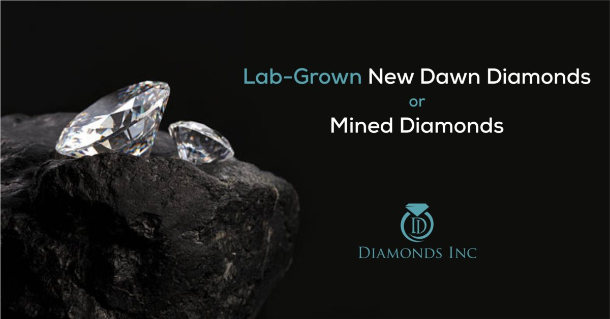 Lab-Grown New Dawn Diamonds or Mined Diamonds
