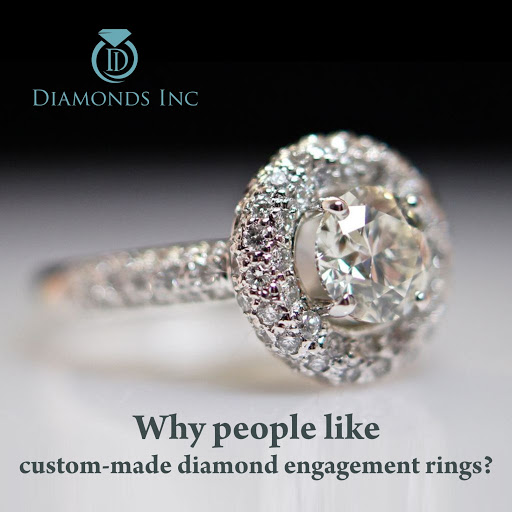 Why people like custom-made diamond engagement rings