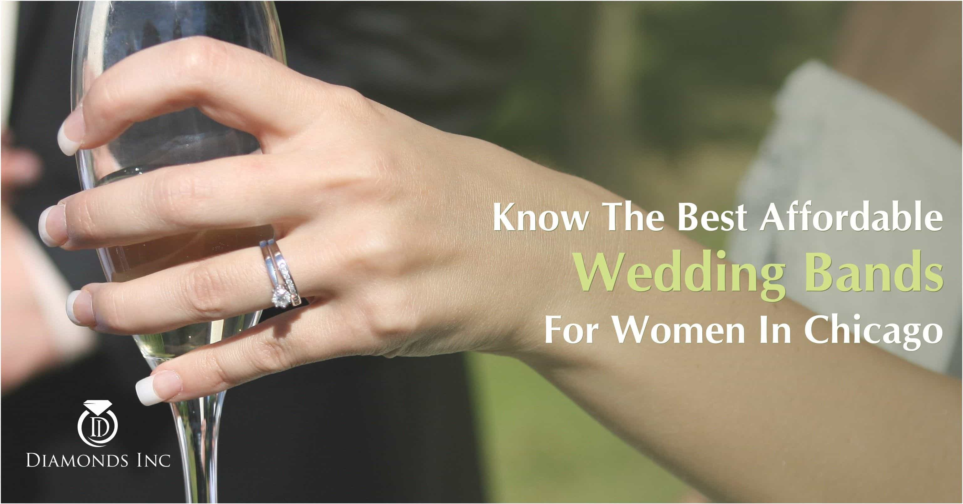 Know The Best Affordable Wedding Bands For Women In
