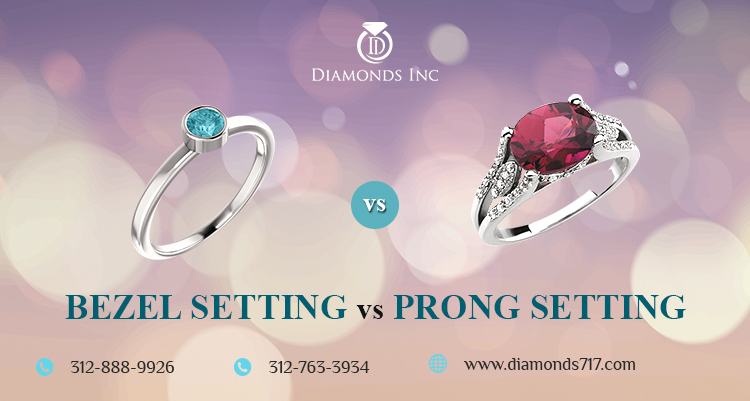 Bezel Setting vs Prong Setting – Which one to Choose?