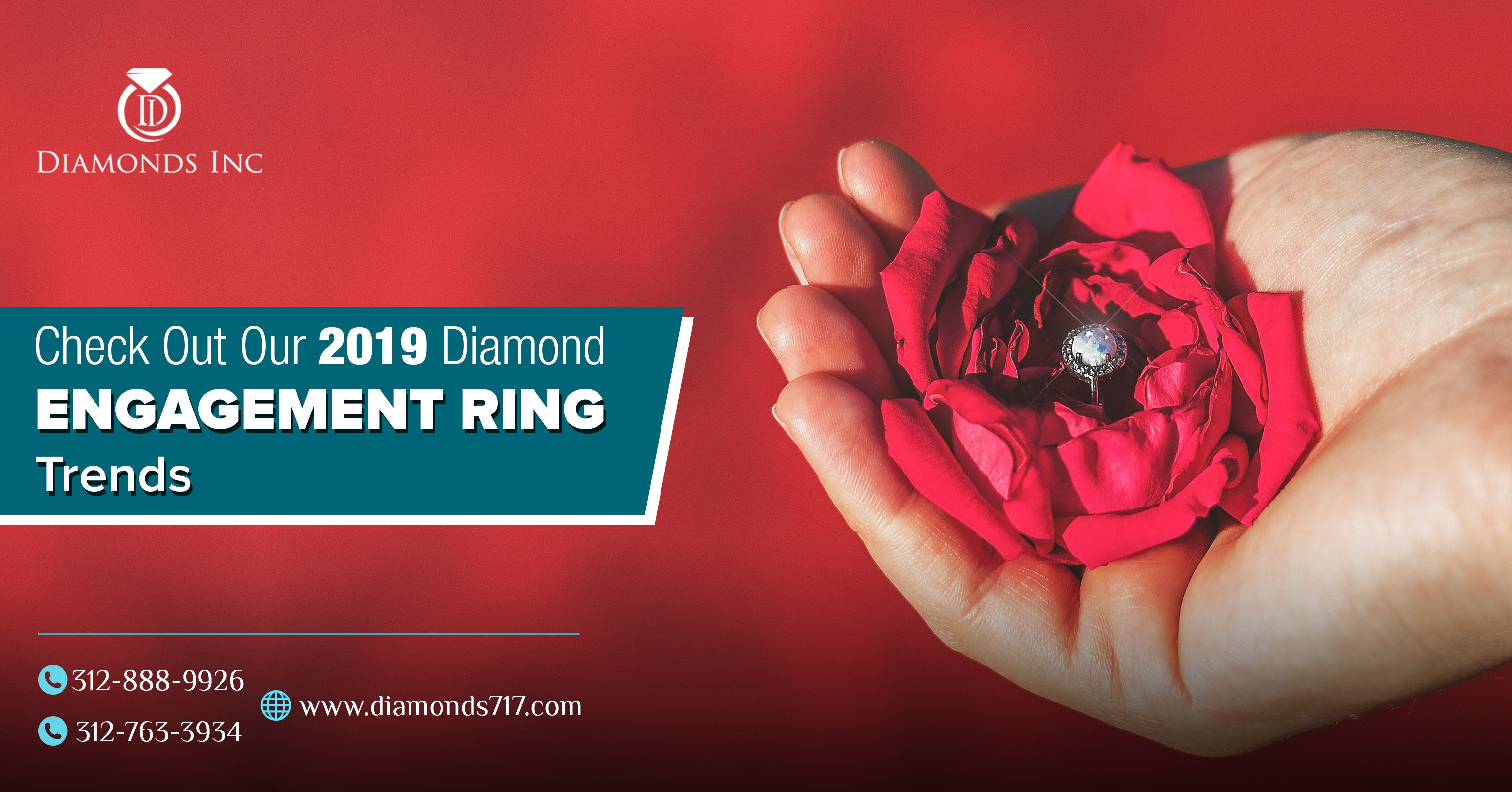 Check Out Our 2019 Diamond Engagement Ring Trends