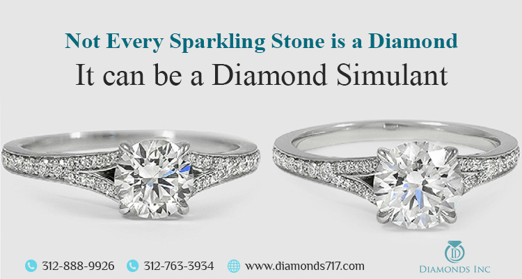 Not Every Sparkling Stone is a Diamond – It Can Be a Diamond Simulant