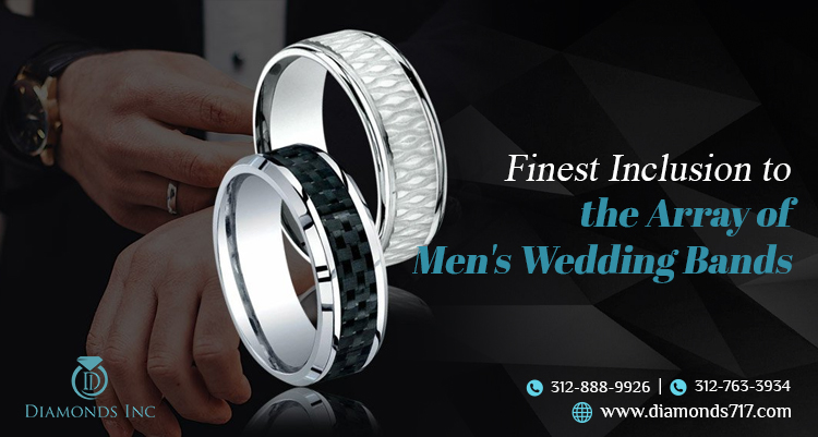 Finest Inclusion to the Array of Men's Wedding Bands